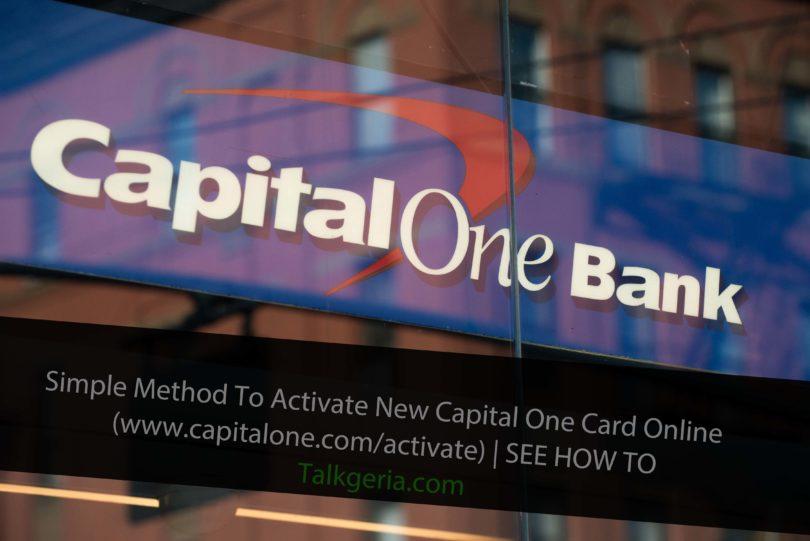 capital one credit card login in uk