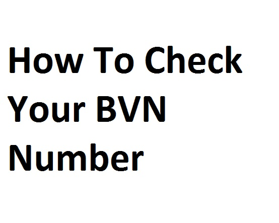 How to Check Your BVN Online on all Network
