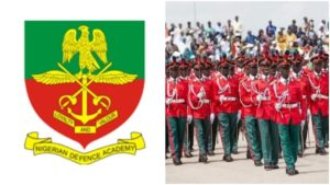 Application Form For Nigeria Defence Academy Form (NDA) Admission Form 2019 Is Out
