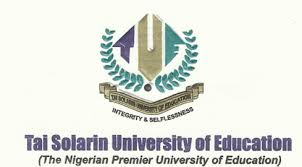 Tai Solarin University of Education TASUED Post UTME Direct Entry Form 2019 2020 is Out