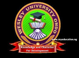 Wesley University Ondo Post UTME/Direct Entry Form 2019/ Is Ongoing