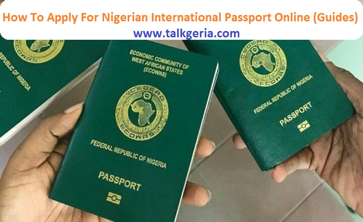 How To Apply For Nigerian International Passport Online (Guides)