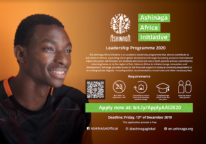 Ashinaga Africa Initiative 2020 Application Form