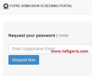 Federal University of Petroleum Resources, Effurun (FUPRE) Post UTME Result 2019 forgot password