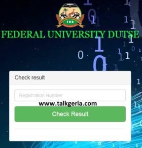 How To Check FUD Post UTME Result 2019-2020