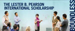 Lester B. Pearson International Scholarship 2020 Programme