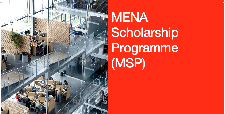 NFP MSP (MENA) Scholarship Program 2020 To Study in Netherlands