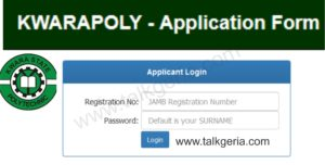 Kwara Poly Post UTME Form for 2019/2020 Session is Out [ND Full-Time]