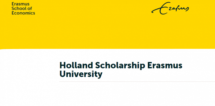 Holland Government Scholarship 2020/2021 To Study At Erasmus University