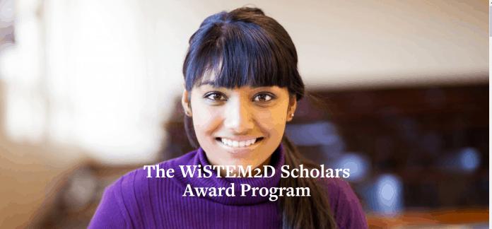 Johnson & Johnson WiSTEM2D Scholars Award Program 2020 Application form for female leaders in STEM discipline Is out