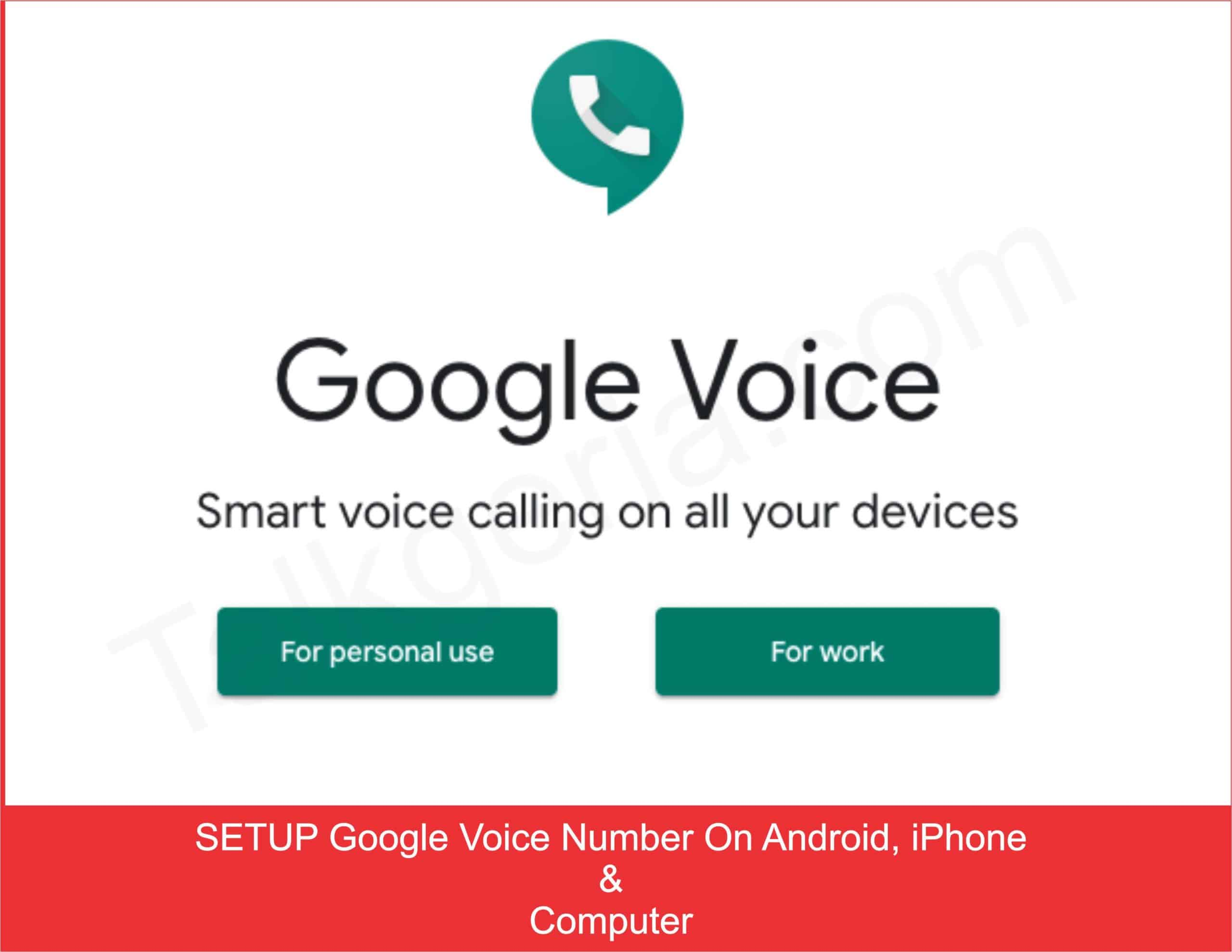how to use google voice on android